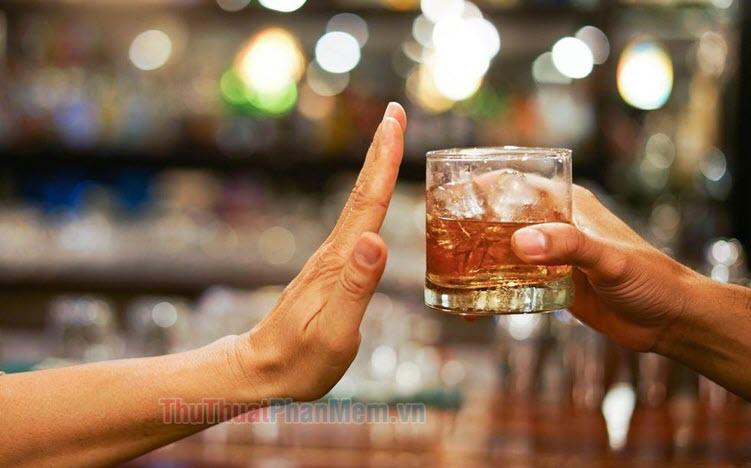 Ảnh chế bỏ rượu hay