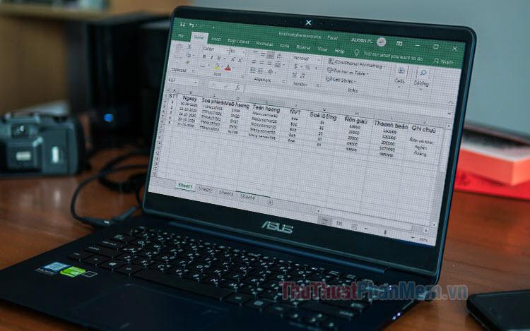 Cách chuyển đổi font chữ trong Excel bằng Unikey, EVKey