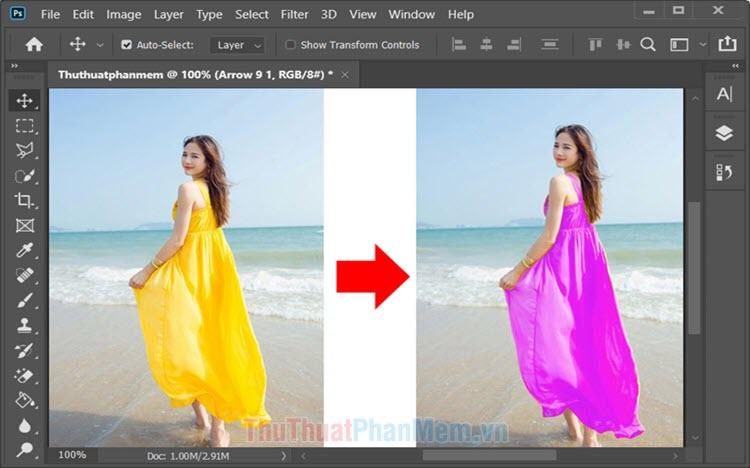 Hướng dẫn cách Replace Color trong Photoshop