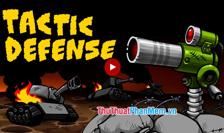 Tactical War Tower Defense Game