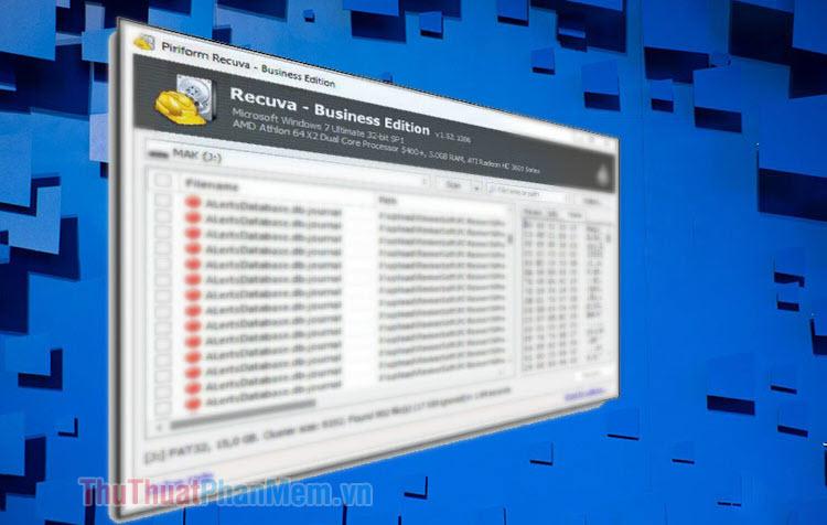 Hướng dẫn cách sử dụng phần mềm Recuva để khôi phục dữ liệu