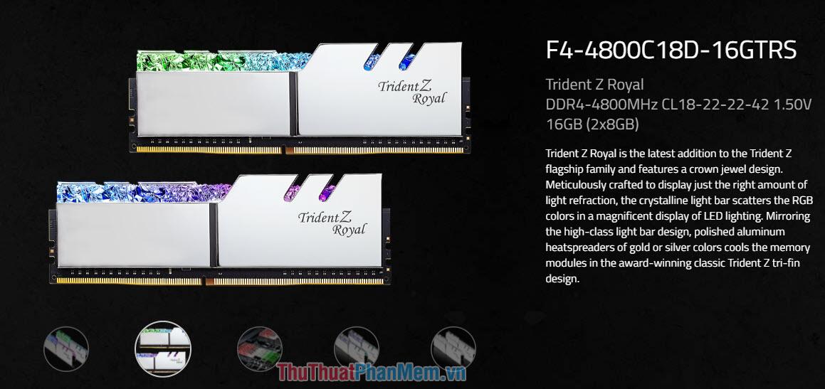 BUS của RAM được hiểu là tốc độ xung nhịp của RAM
