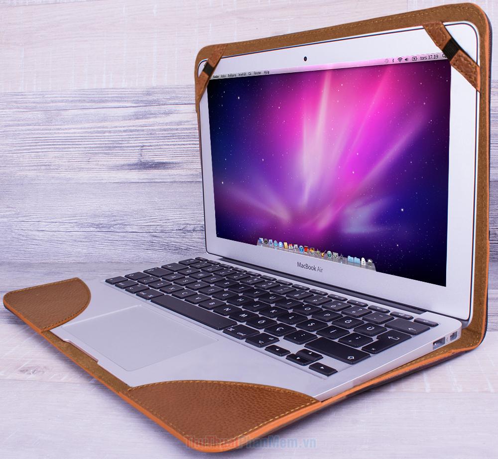 Không sử dụng các loại bọc, vỏ bảo vệ cho Laptop