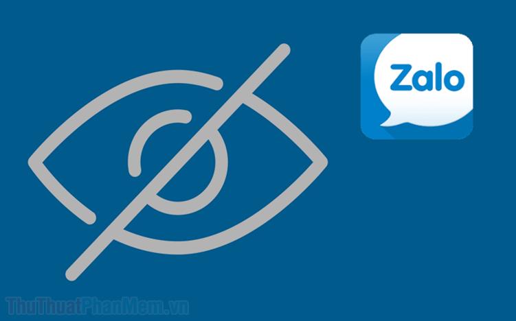 Cách ẩn trò chuyện trên Zalo trên máy tính