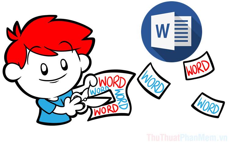 Cách cắt hình trong Word