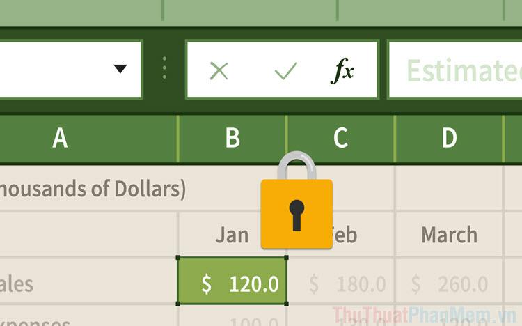 Cách tắt Scroll Lock trong Excel