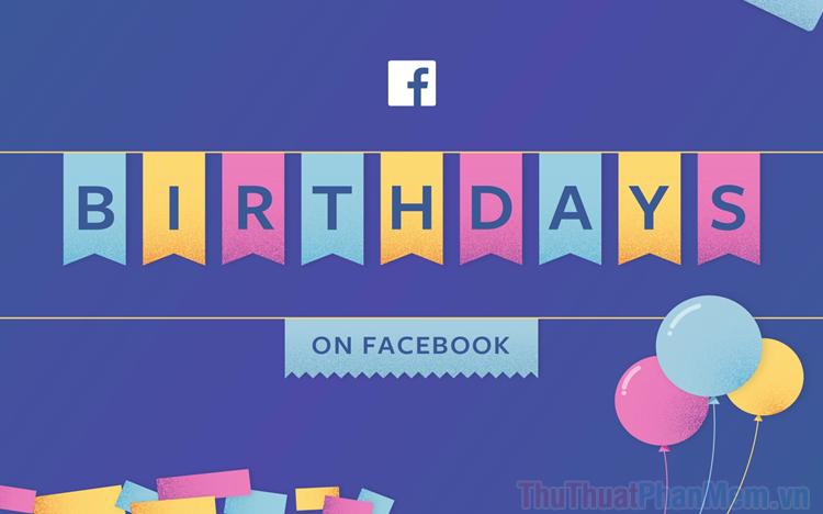 Cách tắt thông báo sinh nhật trên Facebook
