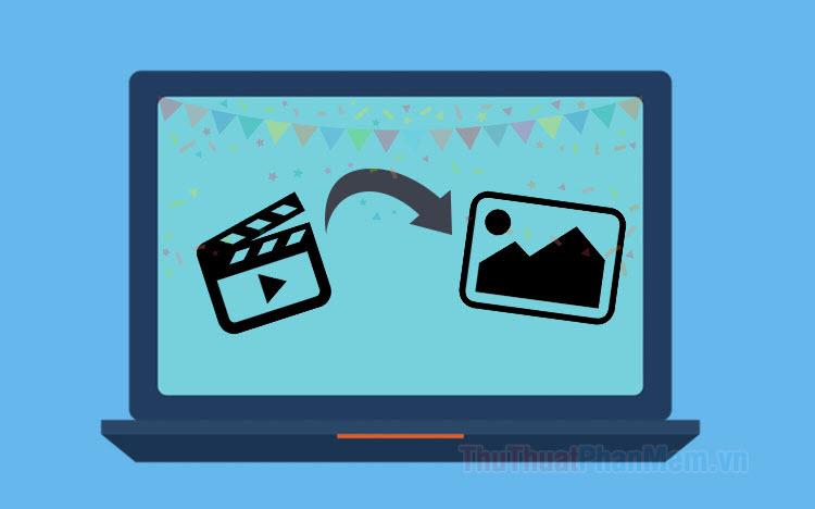 Cách cắt ảnh từ video