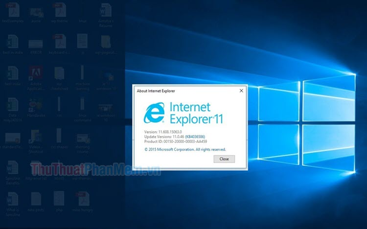 Cách cài đặt Internet Explorer trên Windows 10