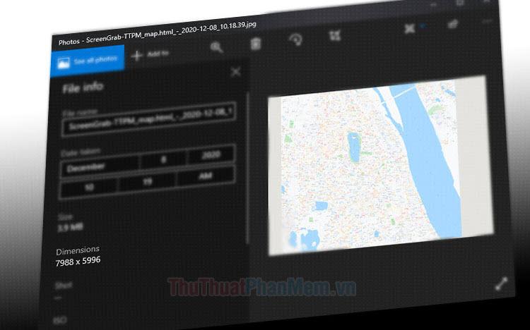 Cách chụp ảnh bản đồ Google Maps chất lượng cao
