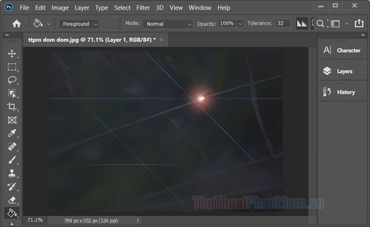 Cách tạo quầng sáng trong Photoshop