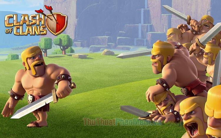 Hình ảnh Clash Of Clans đẹp
