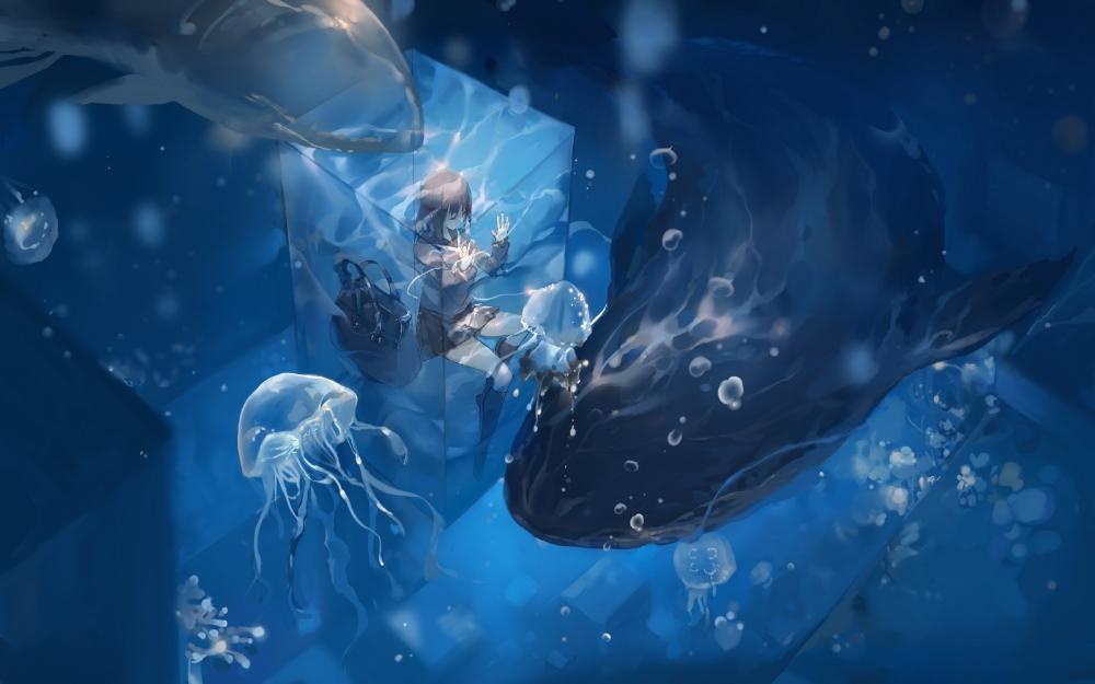 Ảnh con sứa 3D