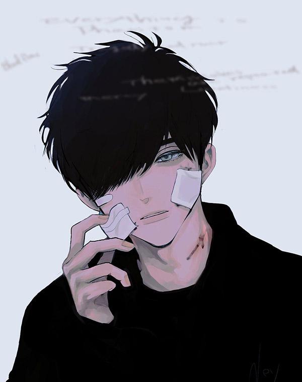 Ảnh đau khổ anime đẹp