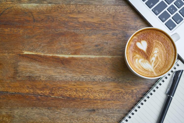 Background cà phê bạc sỉu