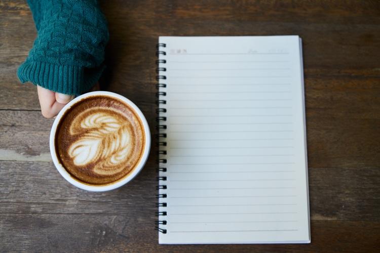 Background cà phê Capuchino