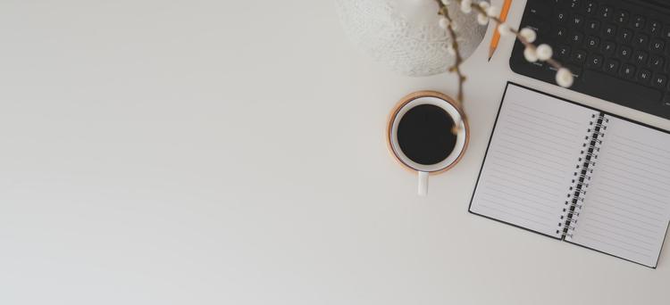 Background cà phê đen trắng
