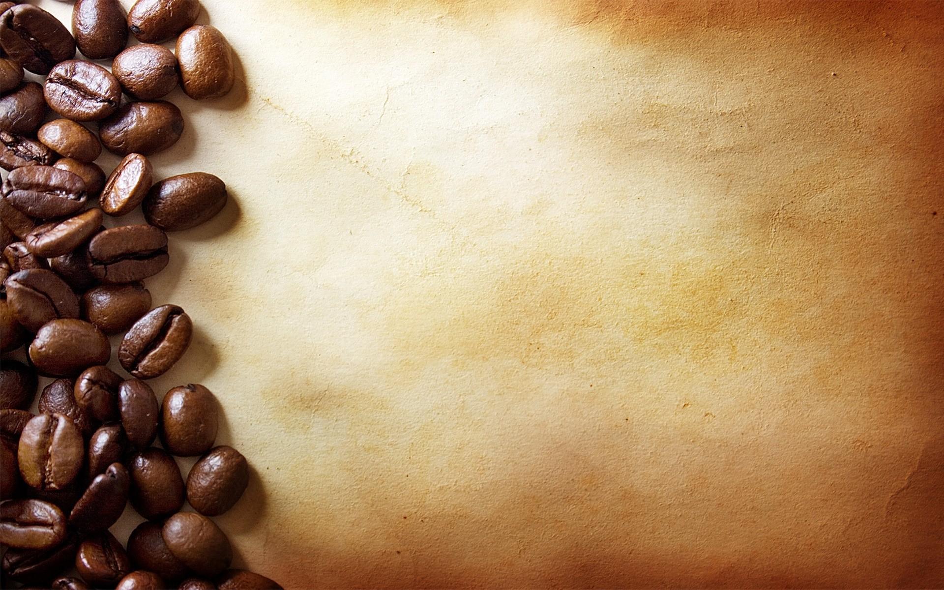 Background hạt cà phê cổ điển