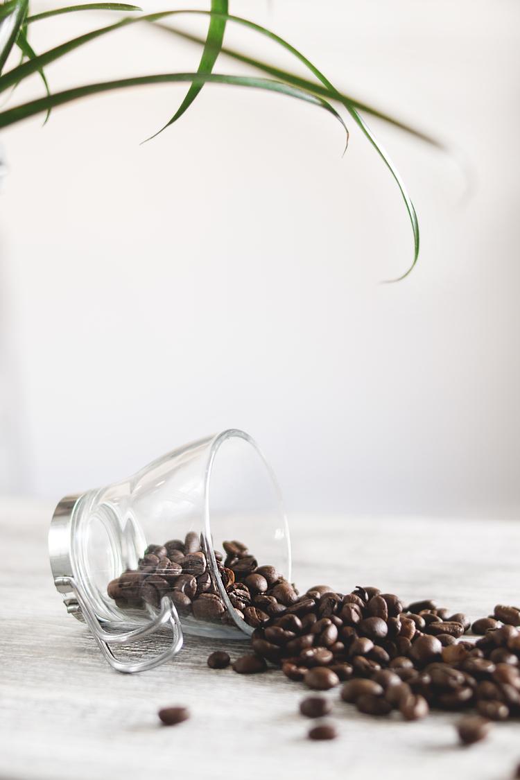 Background hạt cà phê rang xay đẹp nhất