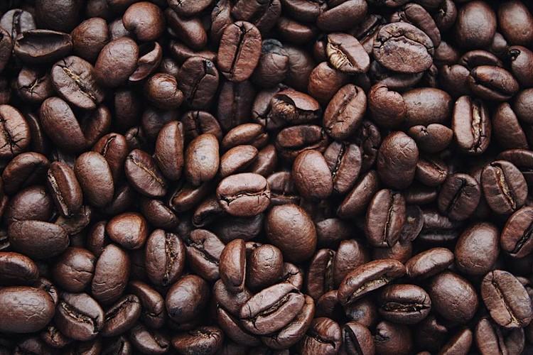 Background hạt cà phê rang