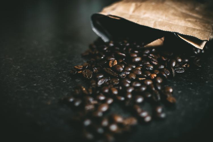 Background hạt cà phê