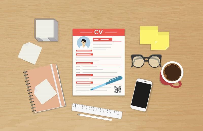 Background hồ sơ tuyển dụng