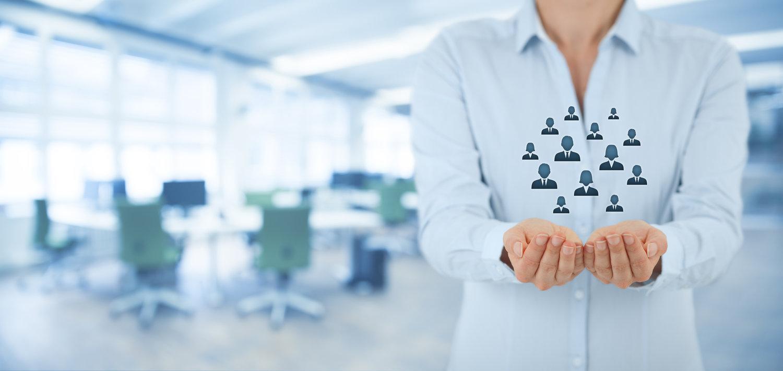 Background tuyển dụng nhân lực