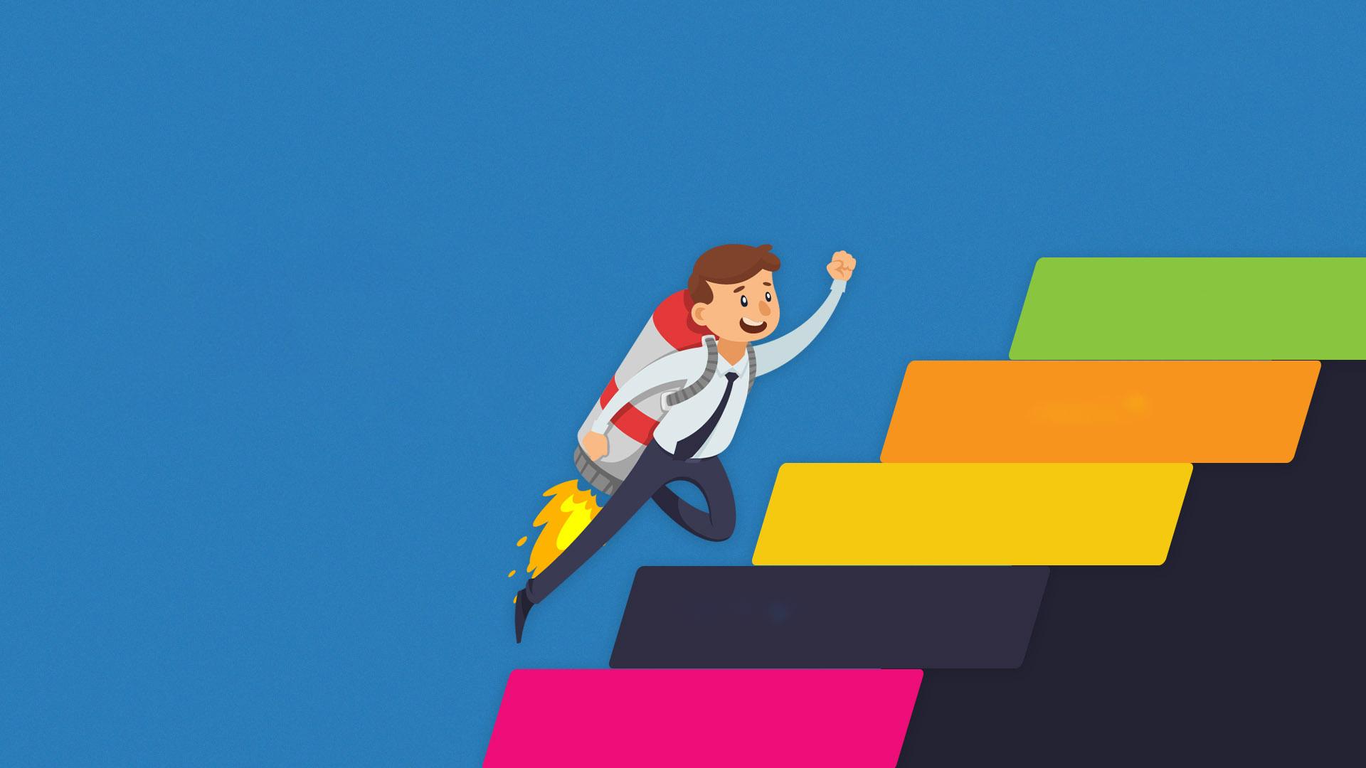 Background tuyển dụng và thăng tiến