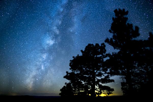 Hình ảnh bầu trời buổi tối