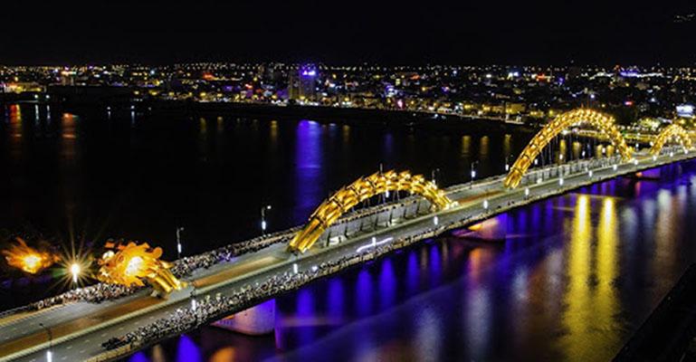 Hình ảnh buổi tối ở Đà Nẵng