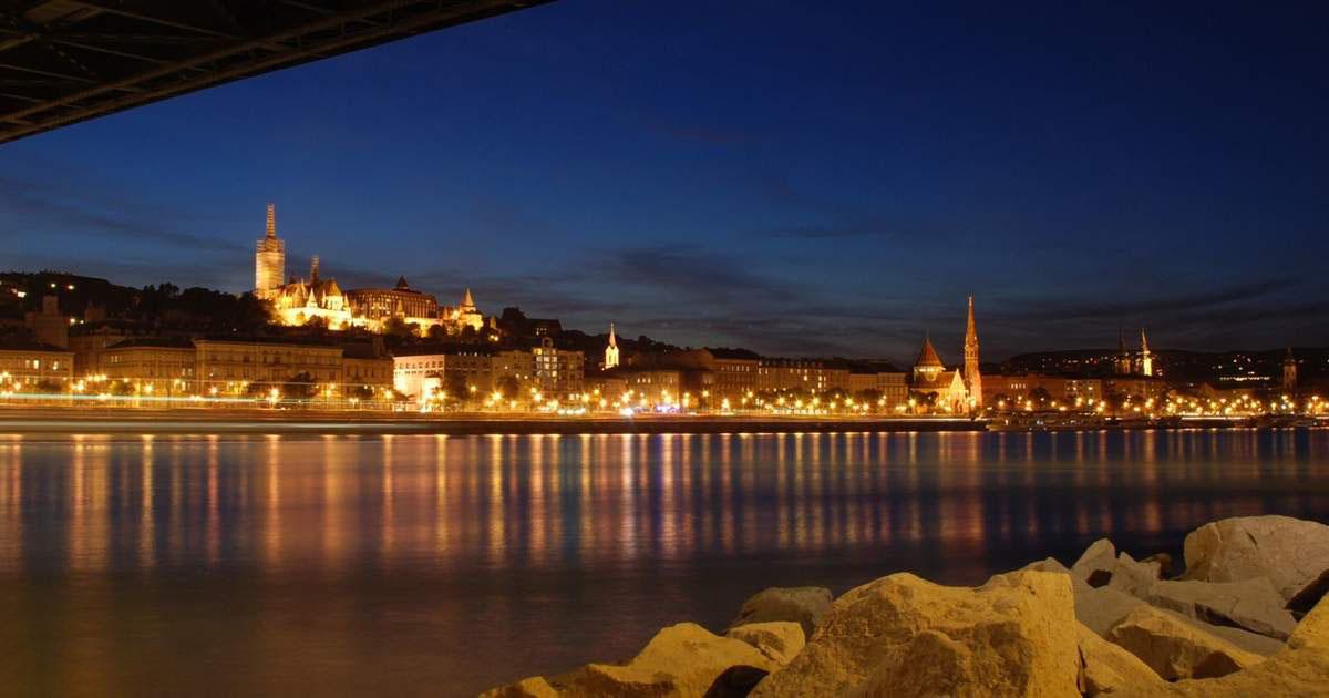 Hình ảnh cảnh đẹp buổi tối