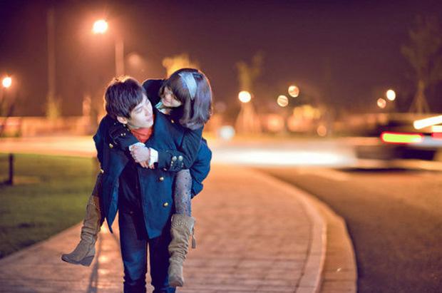 Hình ảnh cặp đôi yêu nhau đáng yêu