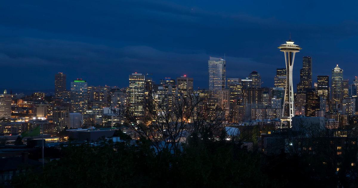 Hình ảnh đẹp thành phố buổi tối