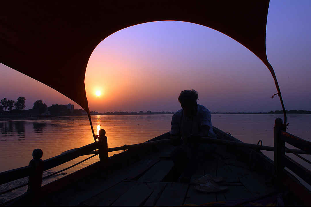 Hình ảnh ông mặt trời buổi tối