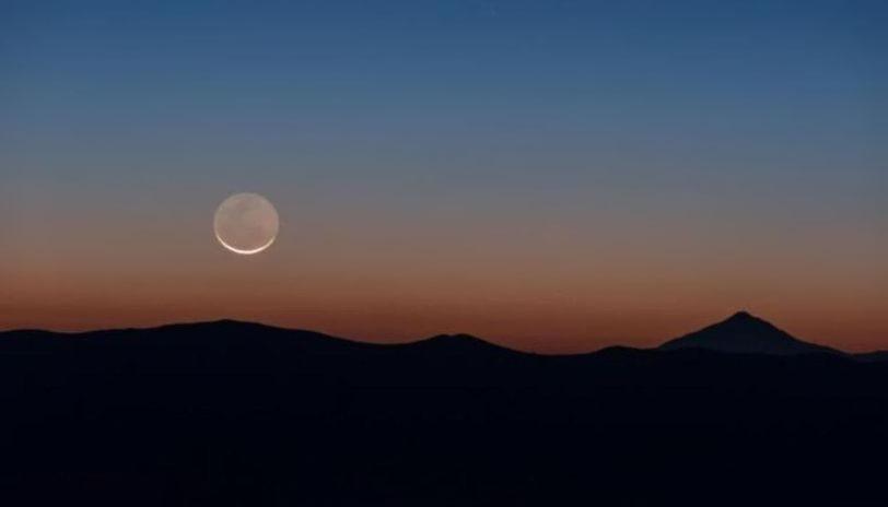 Hình ảnh trăng buổi tối