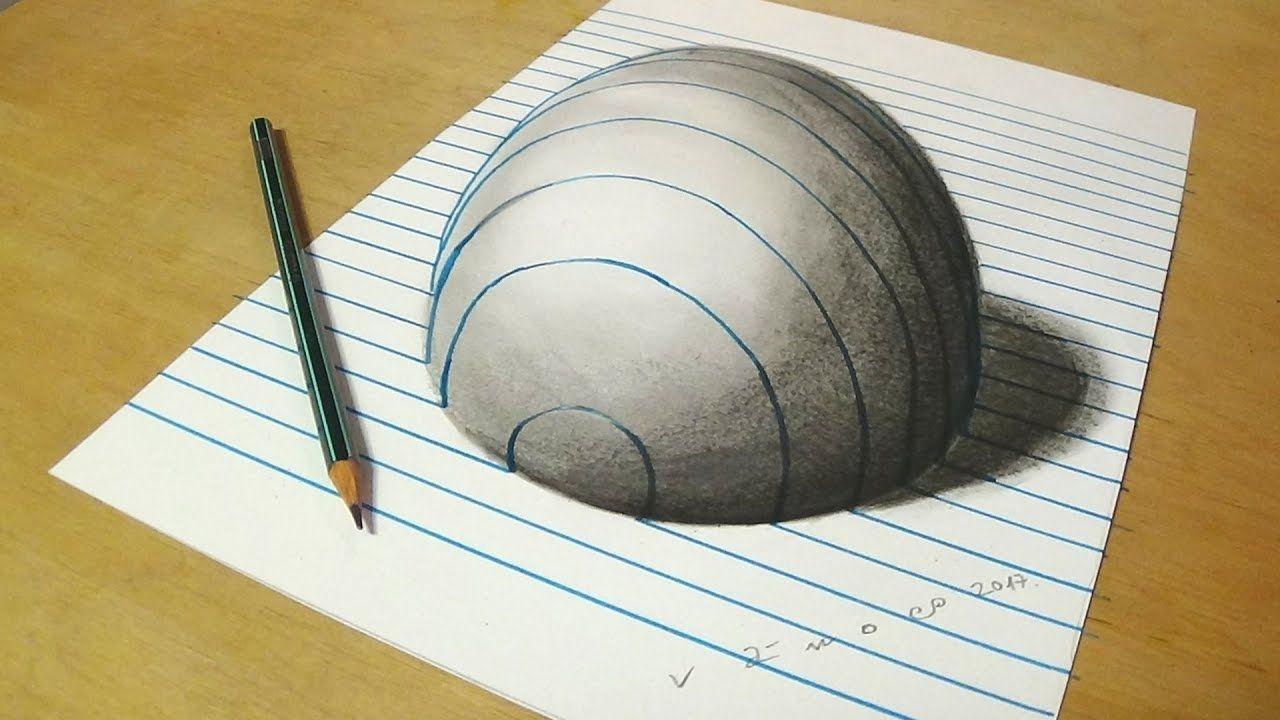 Ảnh ảo giác 3D trên giấy