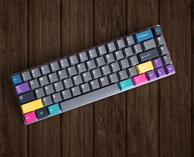 Ảnh bàn phím nhiều màu