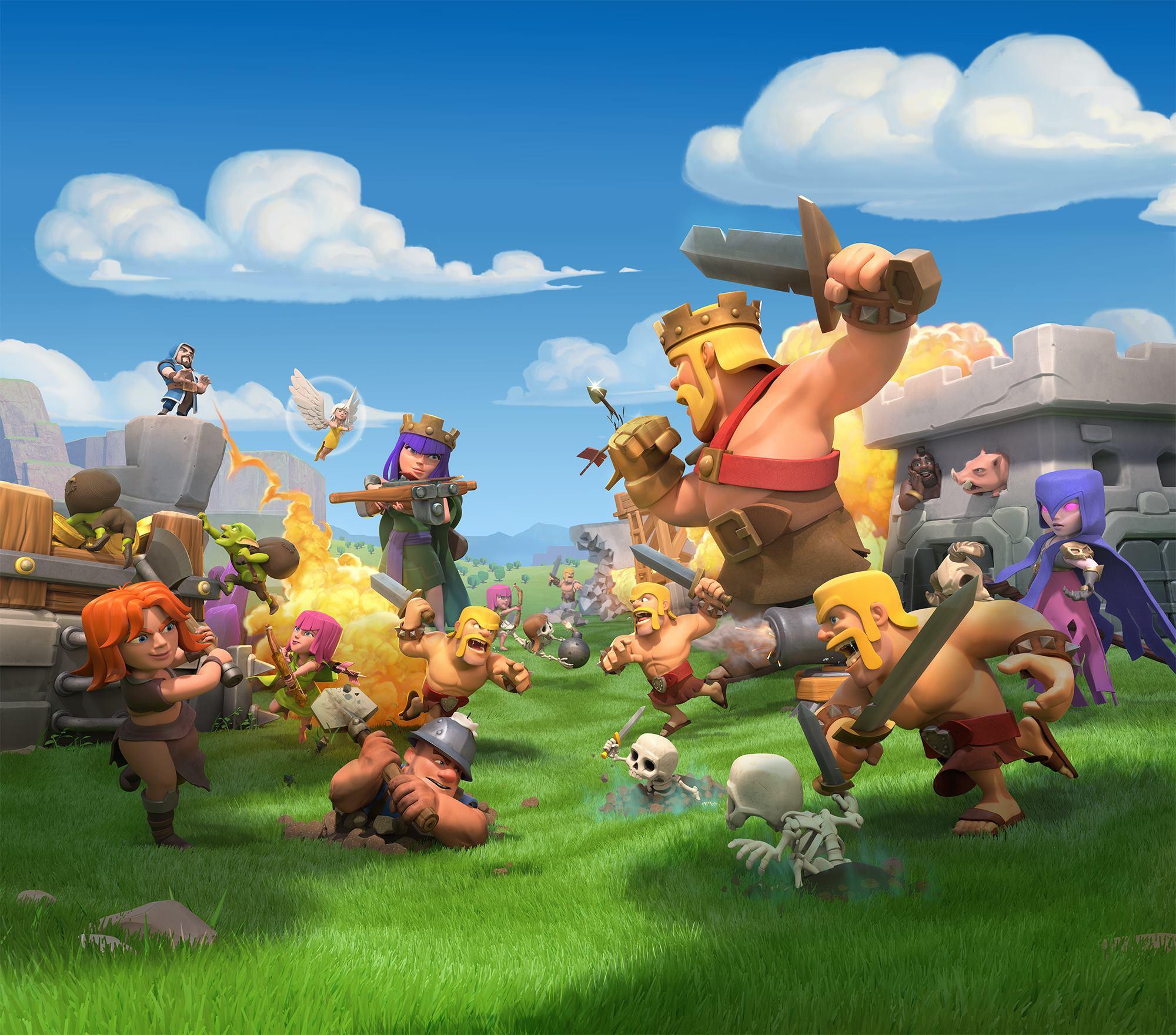 Ảnh Clash of clans vui nhộn