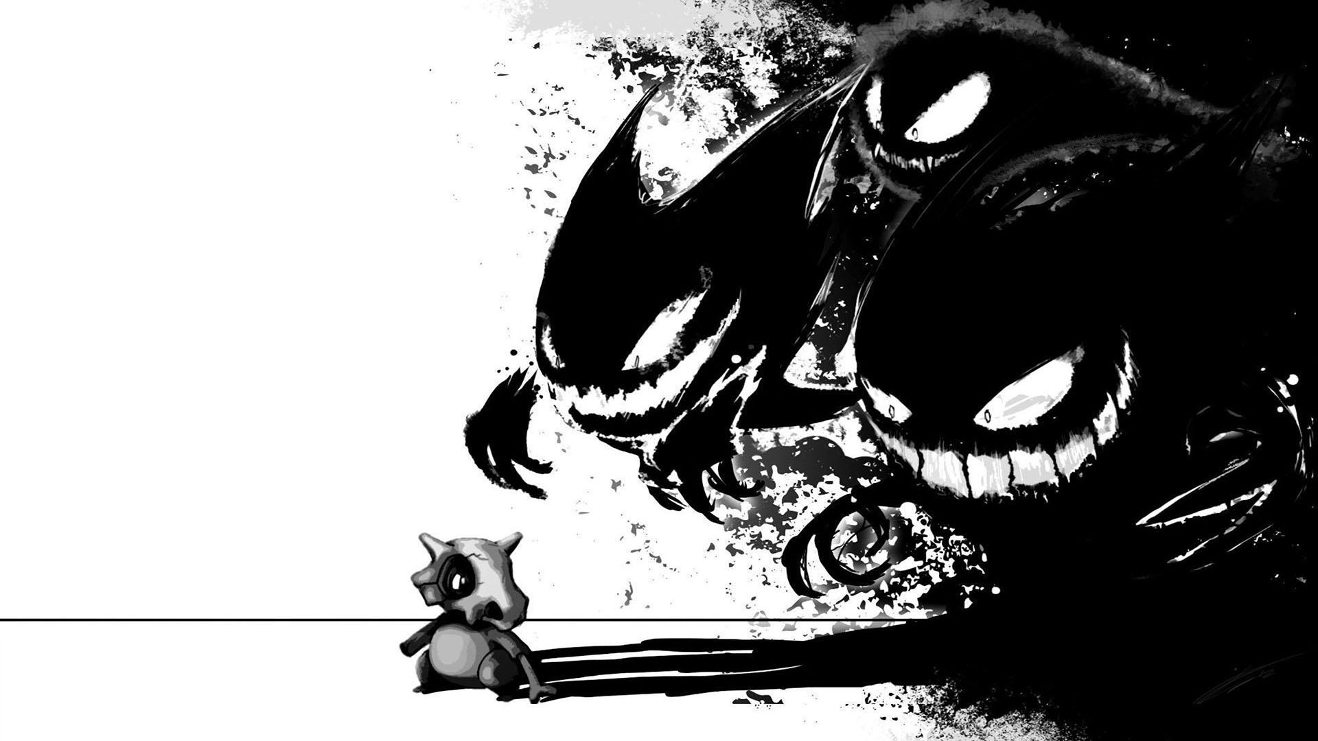 Ảnh nền pokemon trắng đen