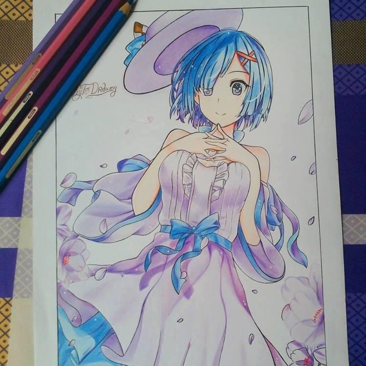 Ảnh tranh vẽ anime đẹp
