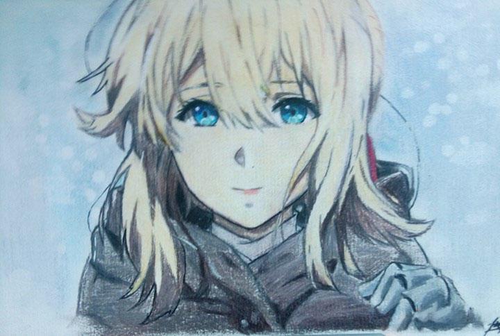Ảnh tranh vẽ anime
