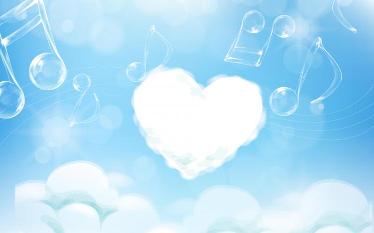 Hình ảnh âm nhạc trái tim