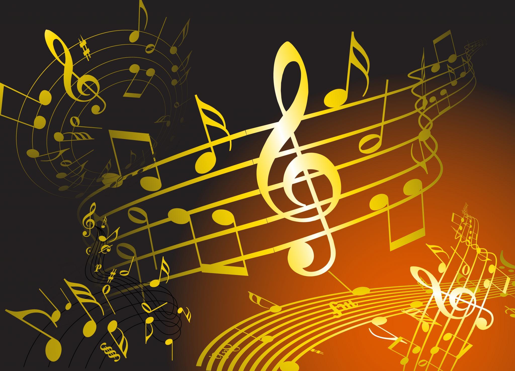Hình ảnh âm nhạc trang trí
