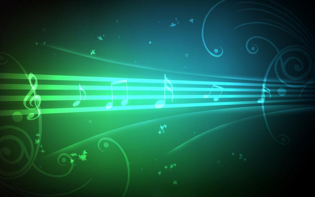 Hình ảnh âm nhạc xanh