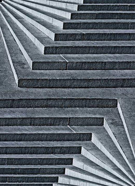 Hình ảnh ảo giác 3D bậc thang