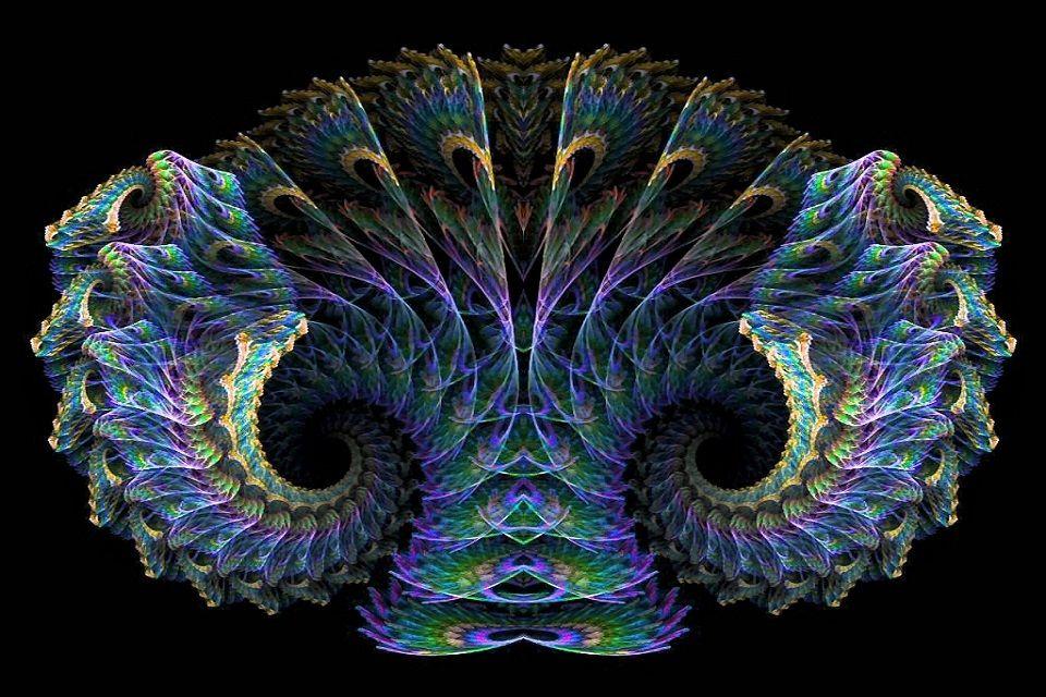 Hình ảnh ảo giác 3D chất