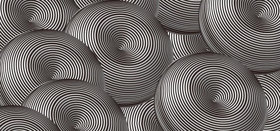 Hình ảnh ảo giác 3D hình cầu
