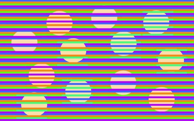Hình ảnh ảo giác 3D màu sắc