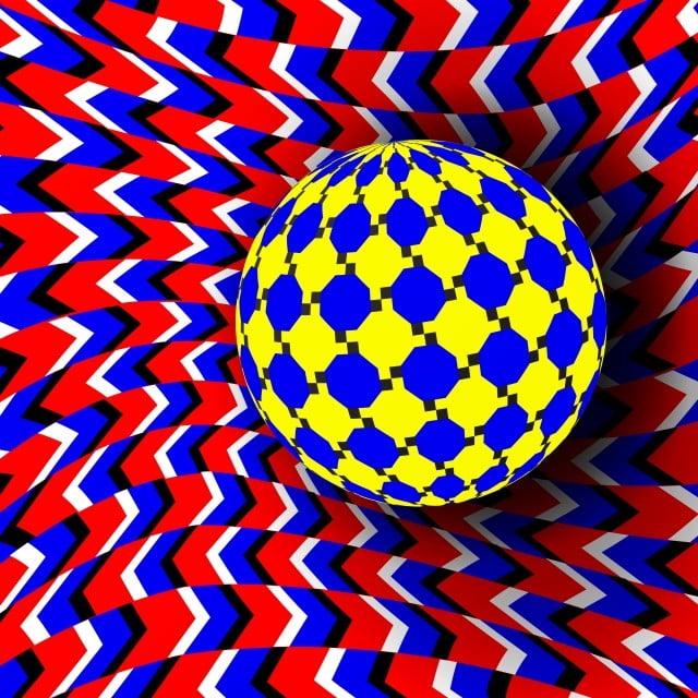 Hình ảnh ảo giác 3D quả cầu