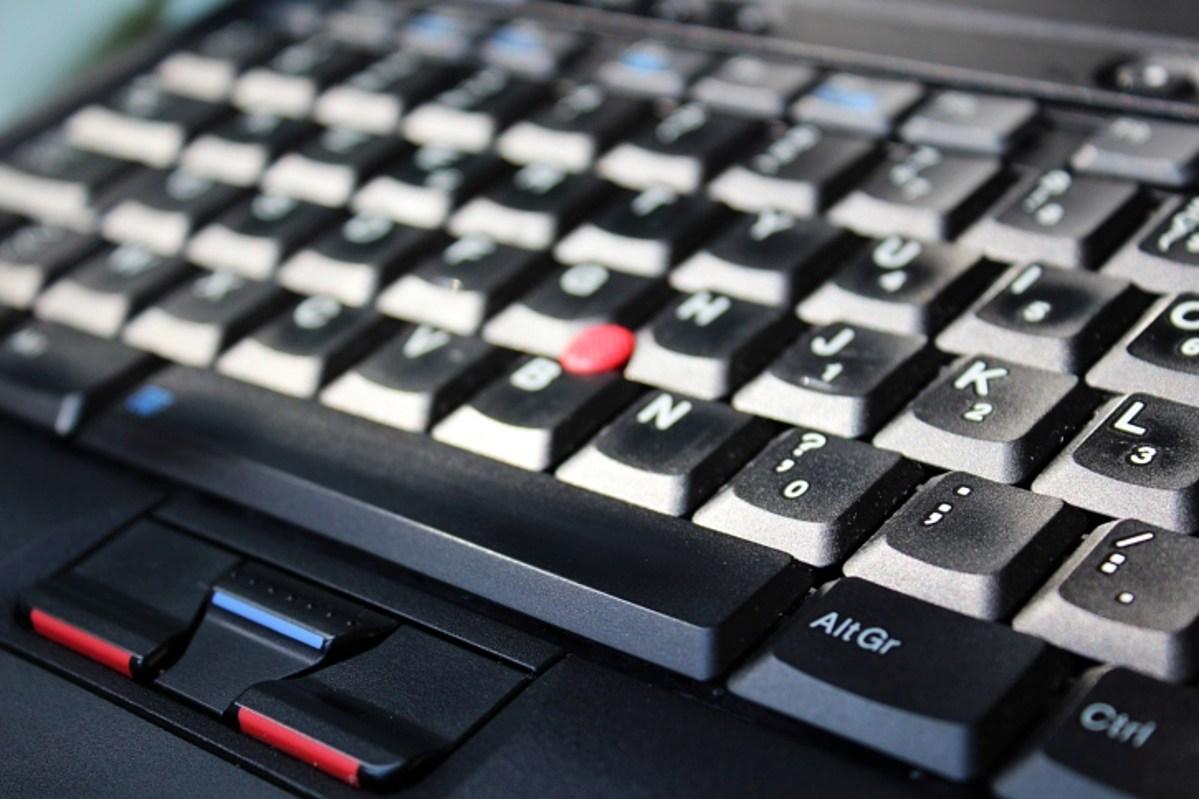 Hình ảnh bàn phím laptop